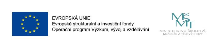 Evropské strukturální a investiční fondy, MŠMT - loga