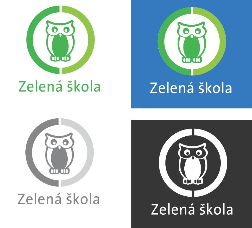 Zelená škola - logo